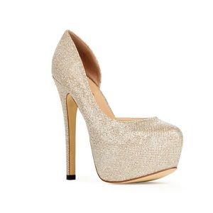 🌸2/$20🌸 Gold JustFab Heels